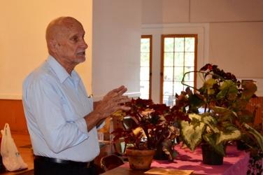 Merle DeLand, VP Tampa Bay Begonia Society