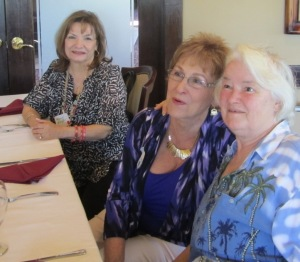 L to R: Mary S., Joan Y. and Denise H.