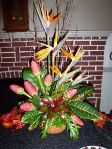 Centerpiece created by Co-hostess Vicki H.