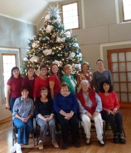 Front Row L to R: Eleanor N., Joan P., Dale B., Denise H., Maureen T. Back Row L to R: Theresa, Vicki H., Paula R., Carolin W., Bonnie B., Carol W., Collen C.