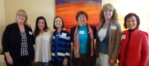 Great group photo of some of our new members taken by 2nd VP/Membership chairman Maureen T. Left to Right: Margaret S., Andrea M., Dorie B., Maria M., Charisse S., Sherri A.