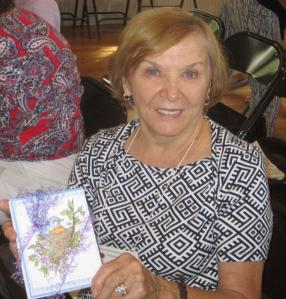 Jackie H. won a set of greeting cards.