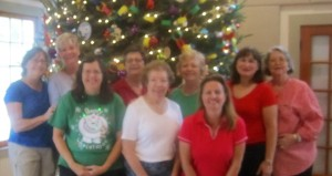Left to right: Vicki H., Phyllis M., Tanya C., Paula R., Janet S., Bonnie B., Carolin W., Theresa S-M, Jackie R.