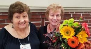 Our hostesses: Peggy C. on the left & Diana L. on the right